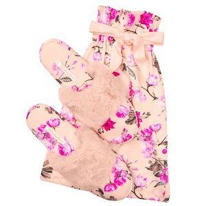 Victorias Secret Signature Satin Slippers&Dust Bag